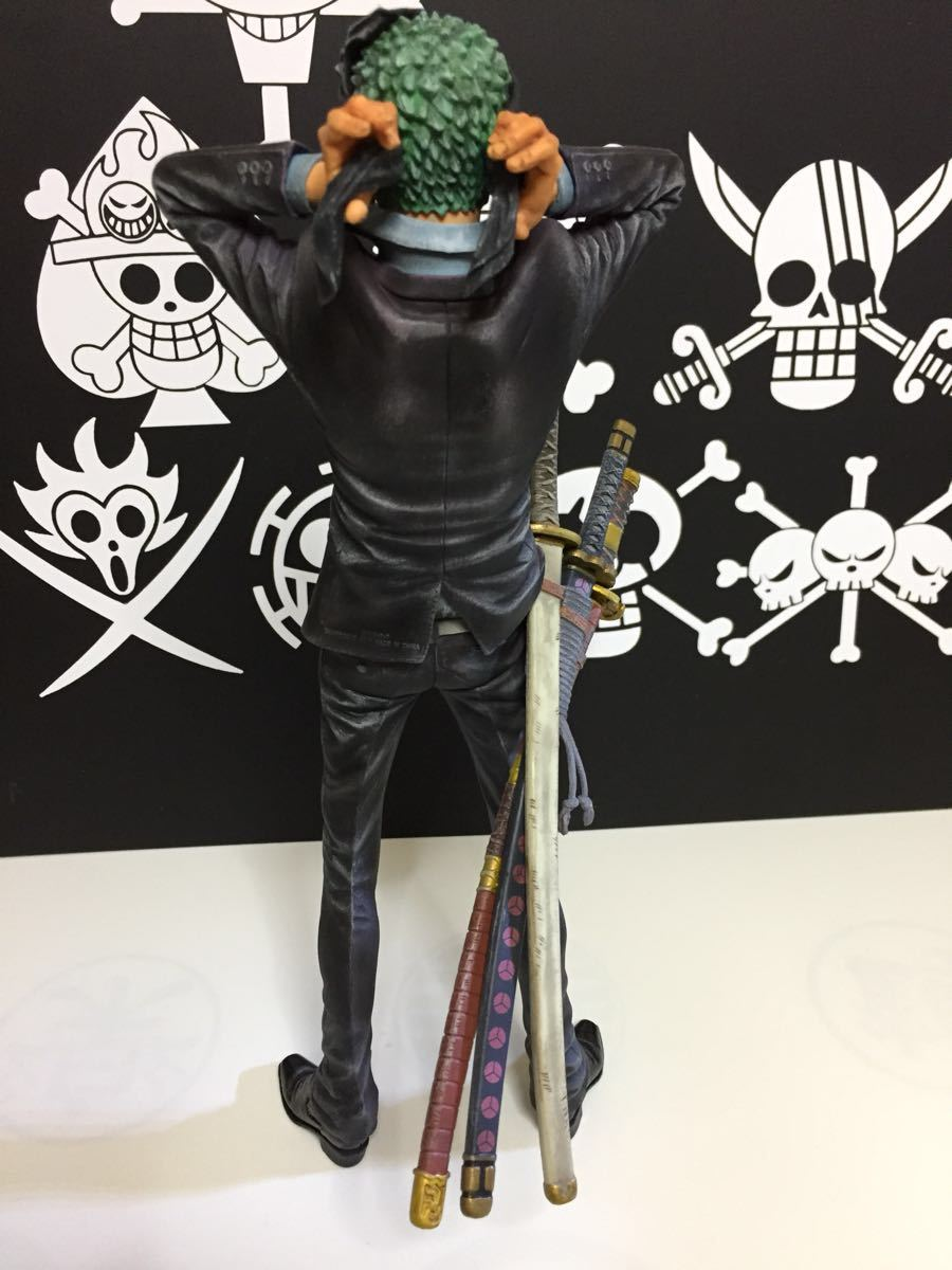 ワンピース KING OF ARTIST THE ロロノア・ゾロフィギュアリペイント_画像6