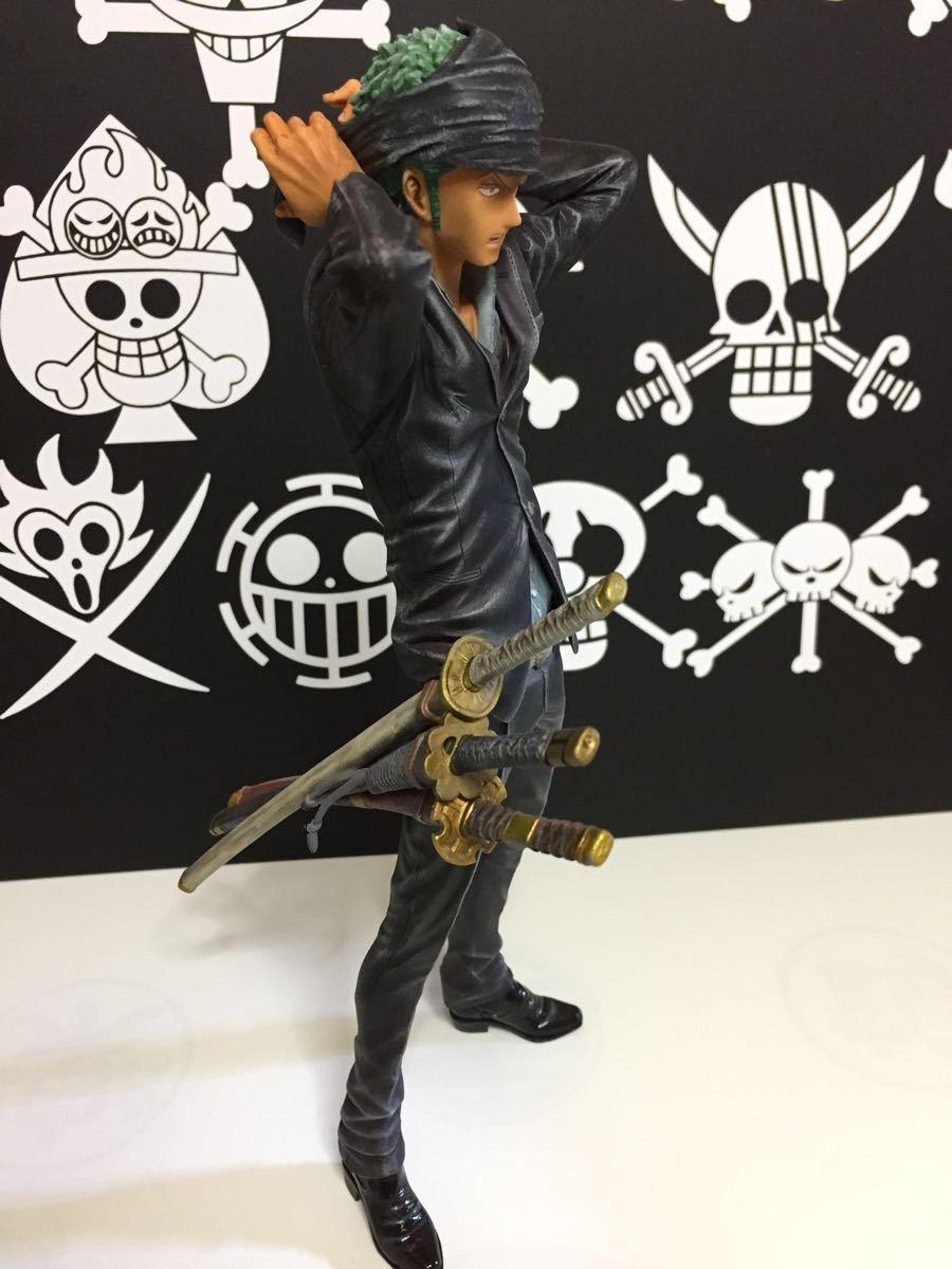 ワンピース KING OF ARTIST THE ロロノア・ゾロフィギュアリペイント_画像4