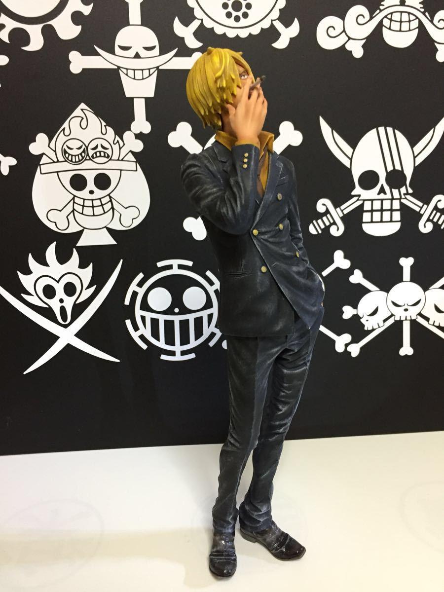 ワンピース KING OF ARTIST THE サンジ フィギュアリペイント_画像2
