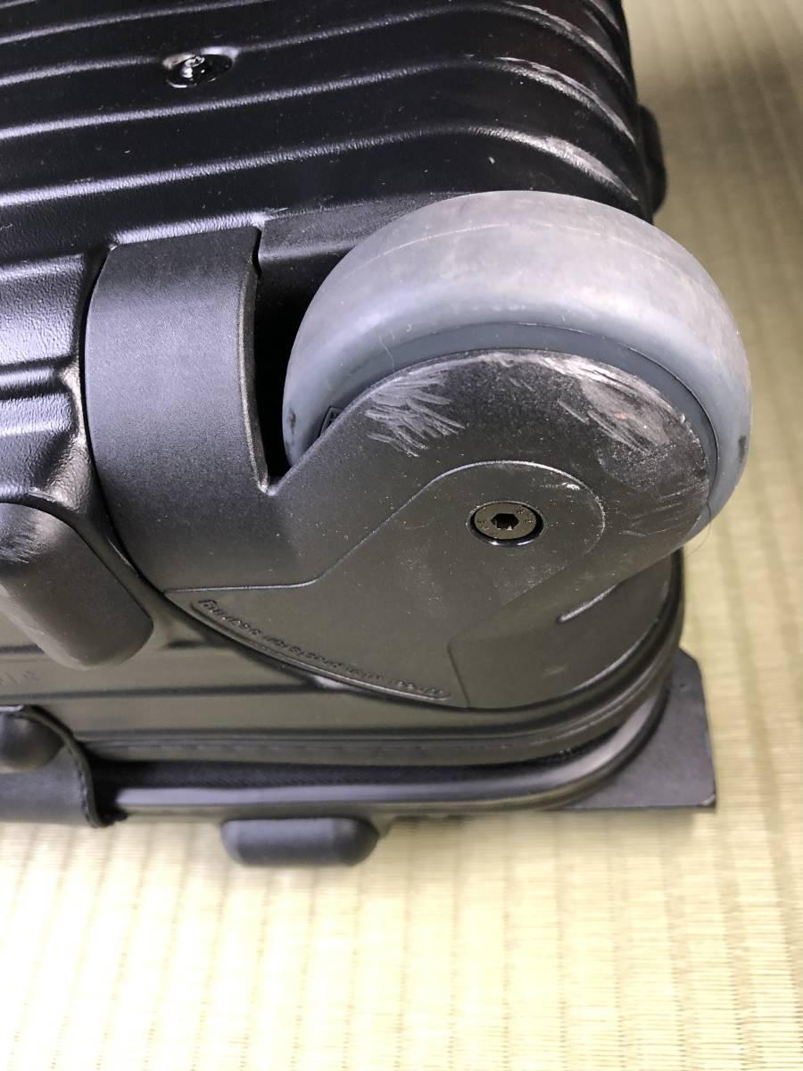 ★リモワ RIMOWA ANA 限定コラボレーションモデル サルサ 2輪 33L 中古美品★_画像8