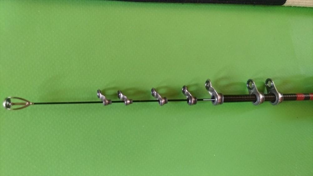 がまかつ がま磯 INTESSA G3 インテッサ GⅢ 125-50 竿袋付 美品_画像5