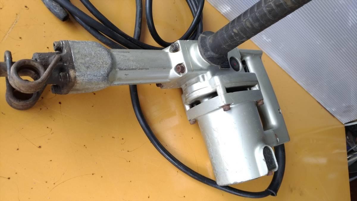 リョービ コンクリートハンマー CH-420A 削岩機 はつり ハンマ_画像5