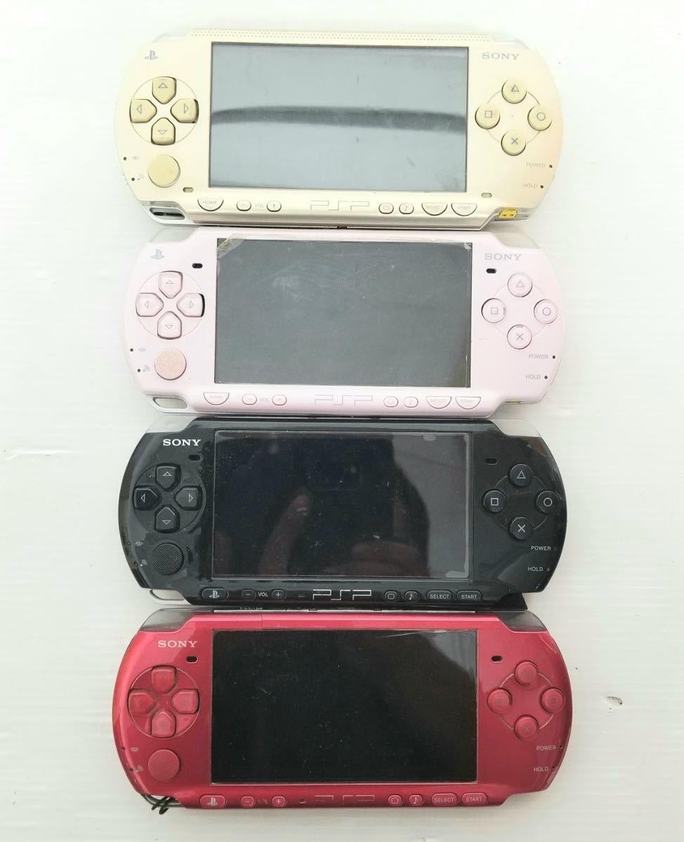 【1円出品早い者勝ち】PSP15個 1000型3個 2000型4個 3000型8個 充電器2本 バッテリー13個 ソフト14本_画像3