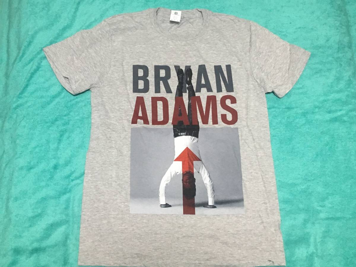 BRYAN ADAMS ブライアン・アダムス Tシャツ M バンドT ロックT Reckless Cuts Like A Knife Into The Fire 18 Til I Die_画像1