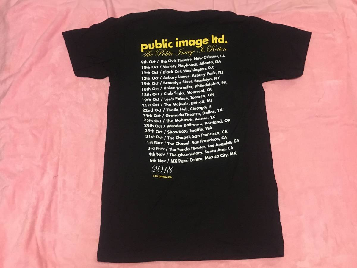 PUBLIC IMAGE LTD. PIL パブリック・イメージ・リミテッド Tシャツ M バンドT ロックT ツアーT Sex Pistols_画像2
