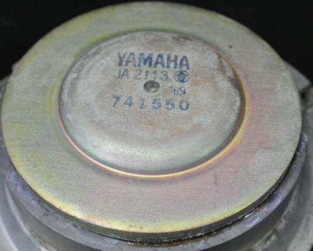★ YAMAHA JA2113 スピーカーユニット 中古品 2個  ② ★_画像5