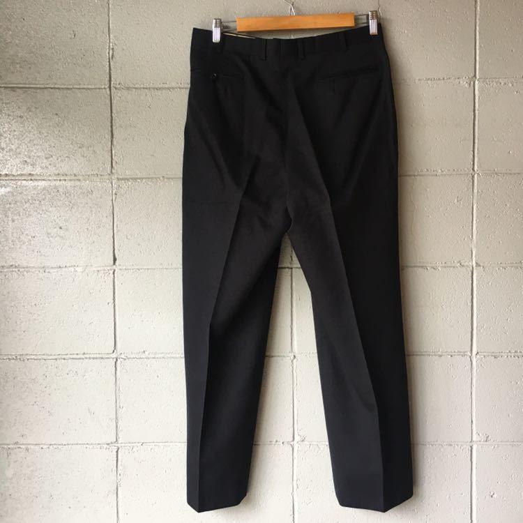 SAINT LAURENT イヴ サンローラン セットアップ スーツ ストライプ ブラック 高級 ジャケット パンツ b841_画像7