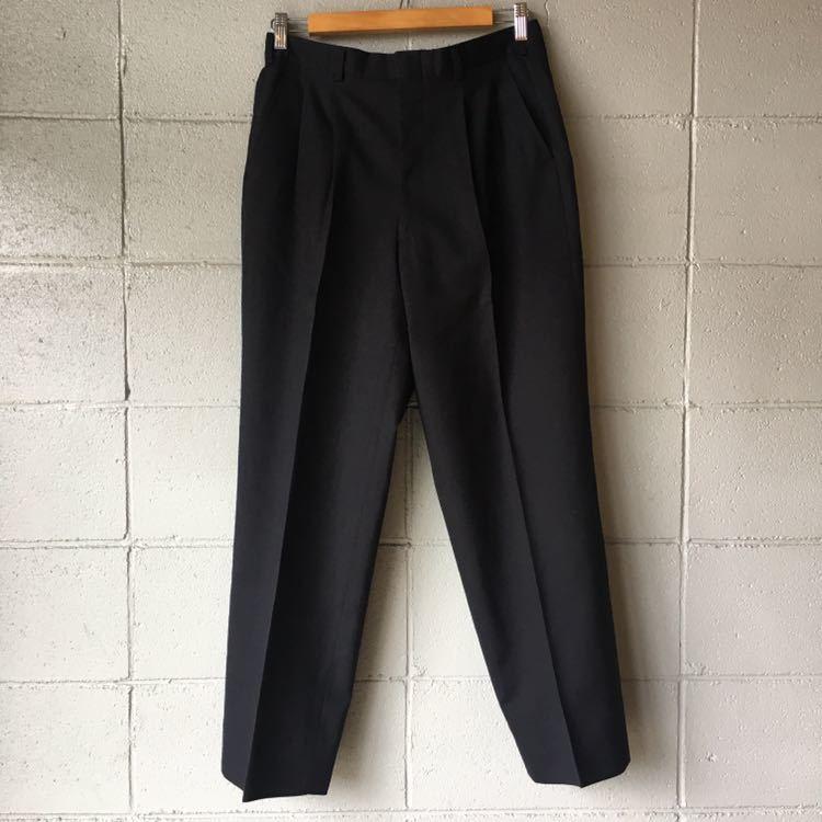 SAINT LAURENT イヴ サンローラン セットアップ スーツ ストライプ ブラック 高級 ジャケット パンツ b841_画像6