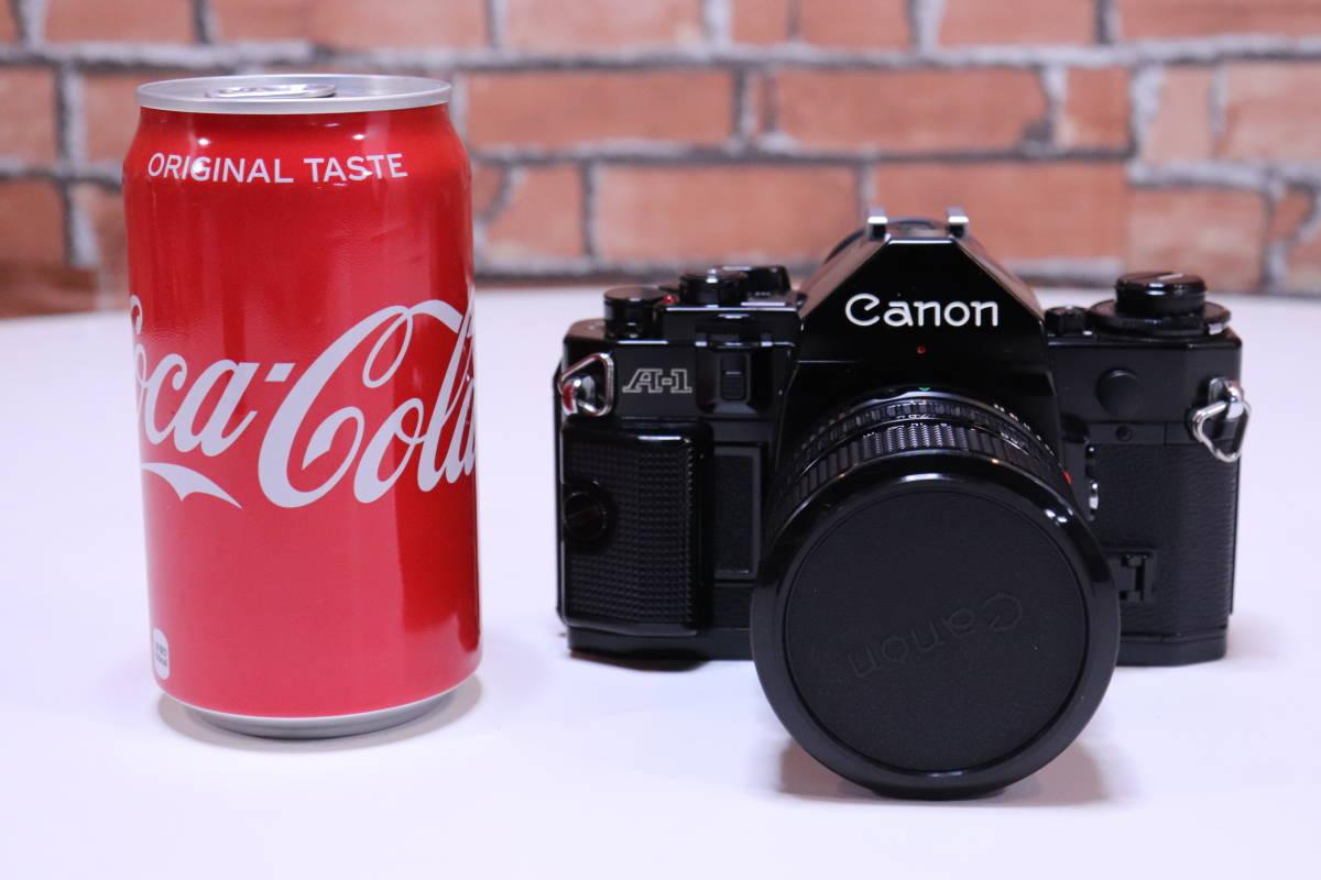 Canon A-1 フィルムカメラ キャノン レンズ・ストロボ・取扱説明書set■(R0042)_画像3