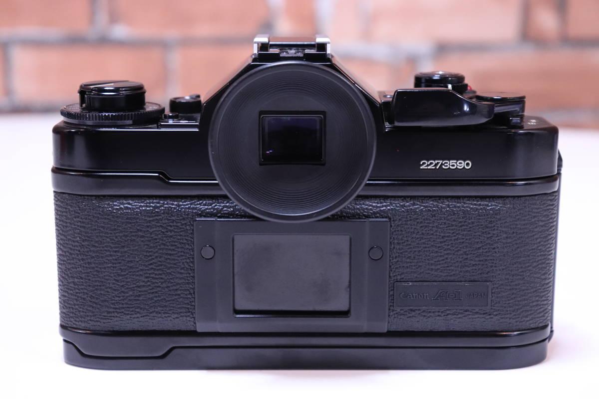 Canon A-1 フィルムカメラ キャノン レンズ・ストロボ・取扱説明書set■(R0042)_画像6