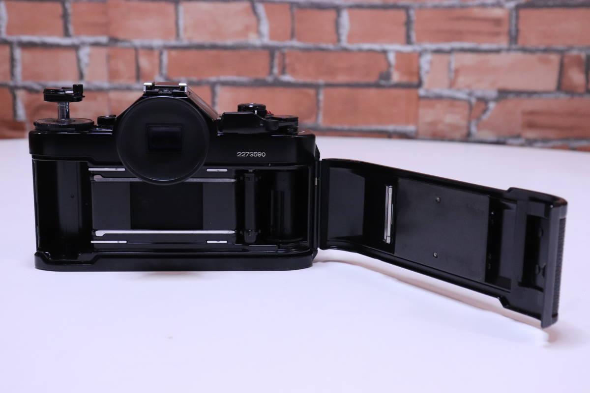 Canon A-1 フィルムカメラ キャノン レンズ・ストロボ・取扱説明書set■(R0042)_画像7