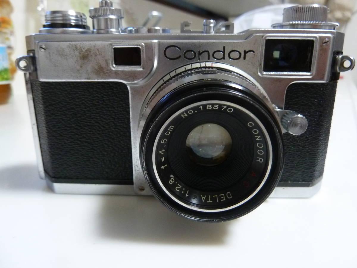 珍品 コンドル35カメラ ニコンS2にそっくりカメラ Condor