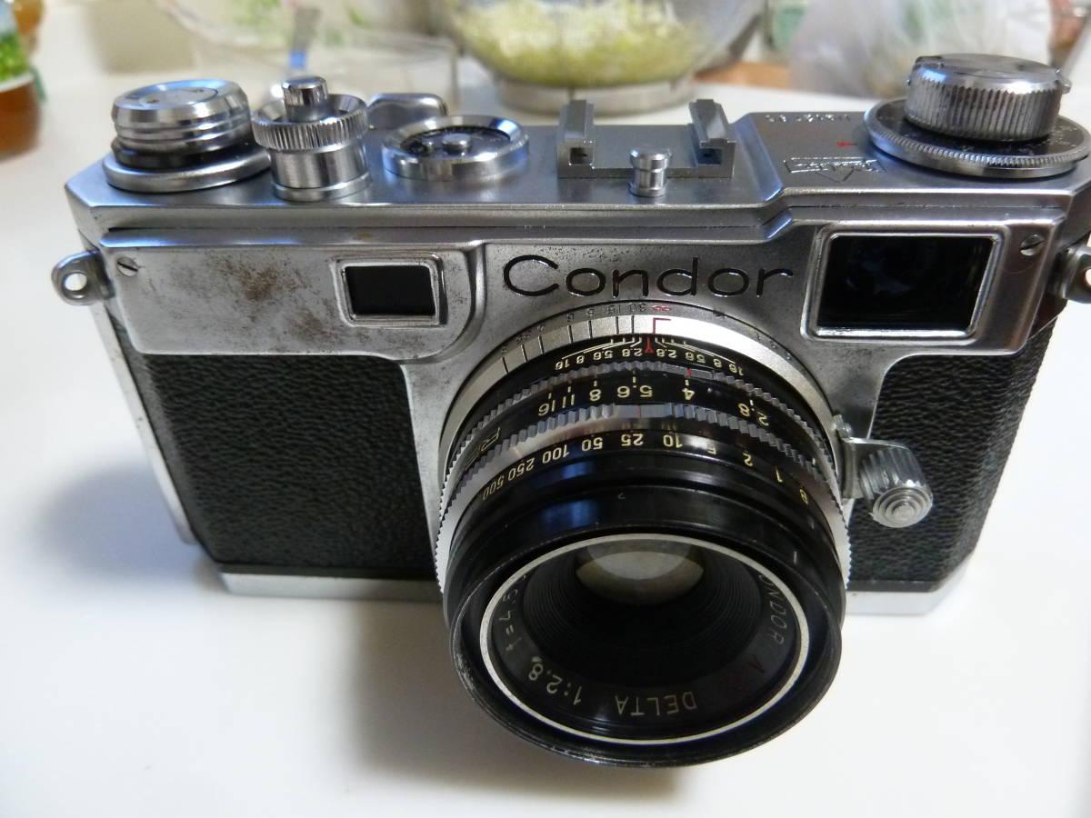 珍品 コンドル35カメラ ニコンS2にそっくりカメラ Condor_画像2