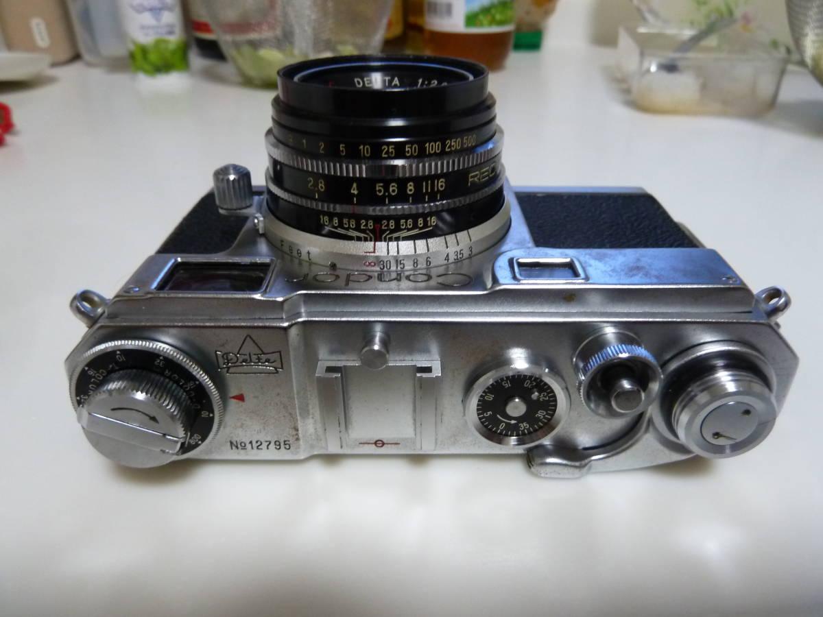 珍品 コンドル35カメラ ニコンS2にそっくりカメラ Condor_画像3