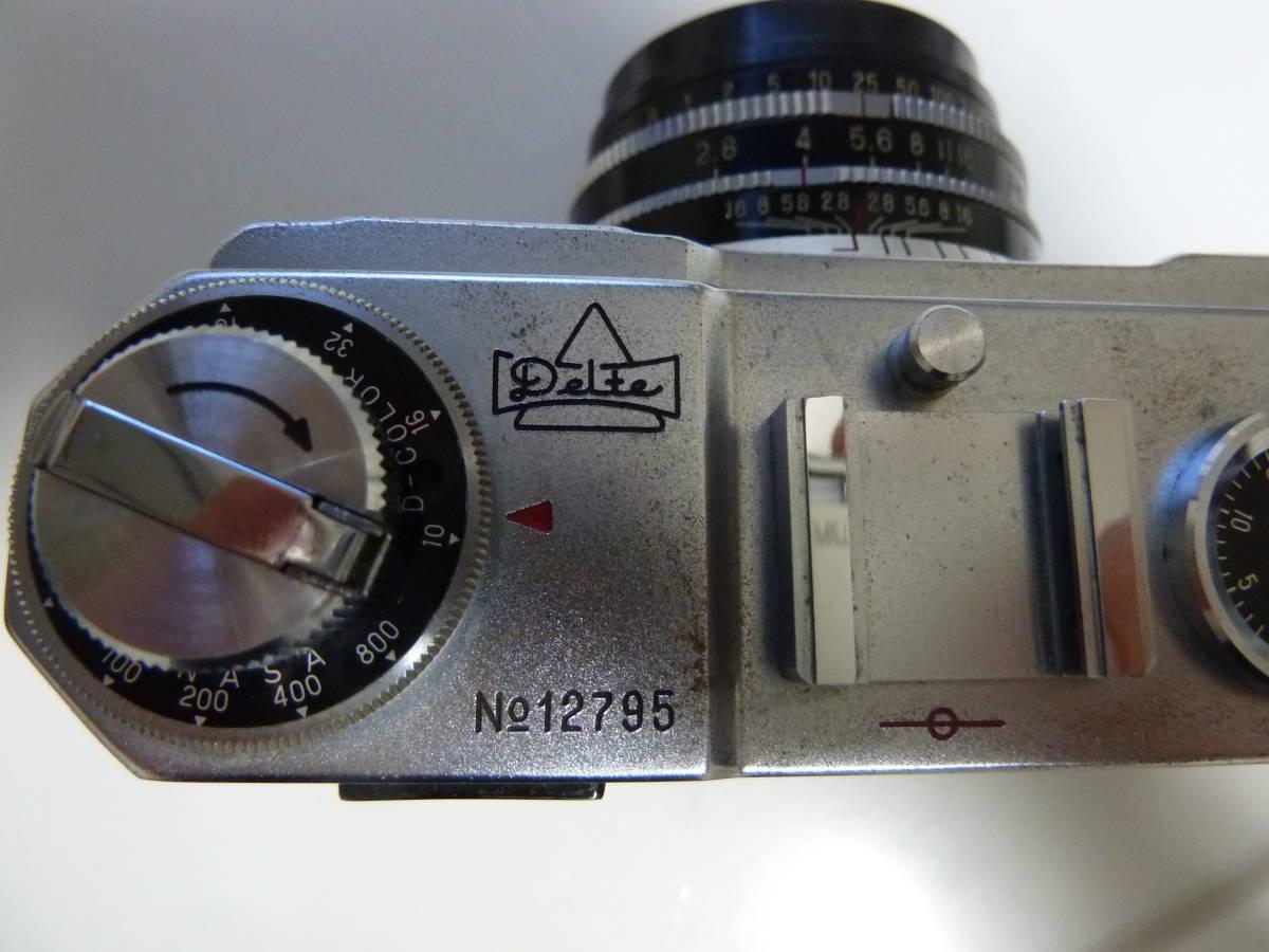 珍品 コンドル35カメラ ニコンS2にそっくりカメラ Condor_画像4
