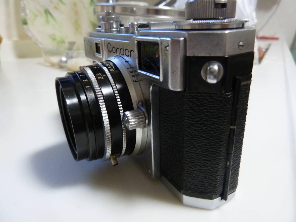 珍品 コンドル35カメラ ニコンS2にそっくりカメラ Condor_画像5