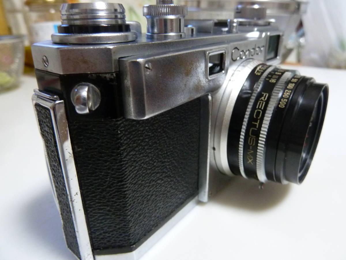 珍品 コンドル35カメラ ニコンS2にそっくりカメラ Condor_画像6