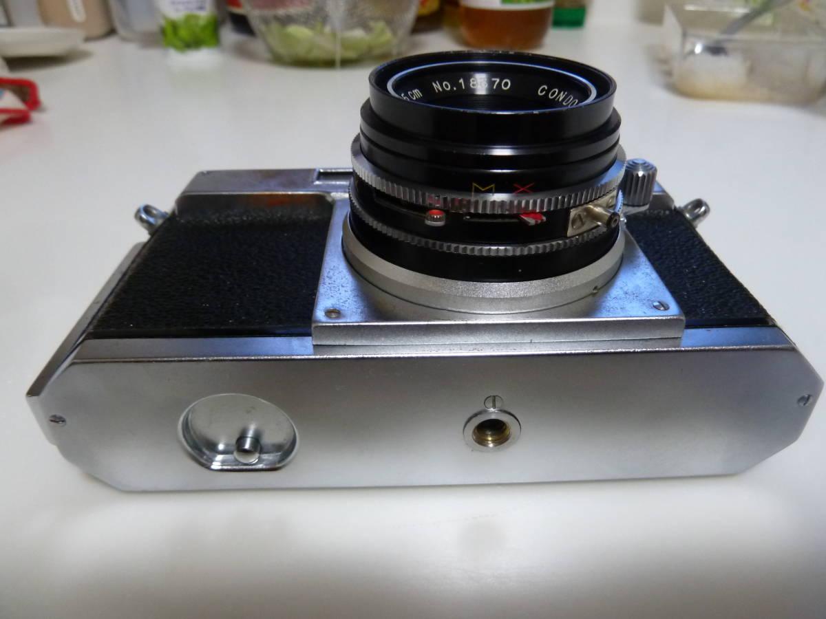 珍品 コンドル35カメラ ニコンS2にそっくりカメラ Condor_画像7