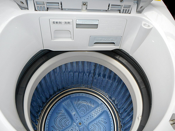 シャープ 7.0kg ES-TX71 洗濯乾燥機 中古品 相模原 町田 神奈川 乾燥機付洗濯機 SHARP _画像3