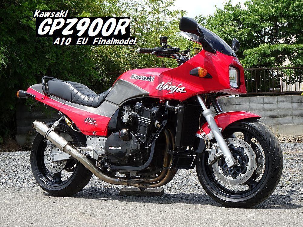 ☆GPZ900R A10 欧州最終モデル 17インチ5.5J ナイトロアンダー Nプロトップブリッジ ラジアルマスター 仕上がったGPZ!! ローン可☆