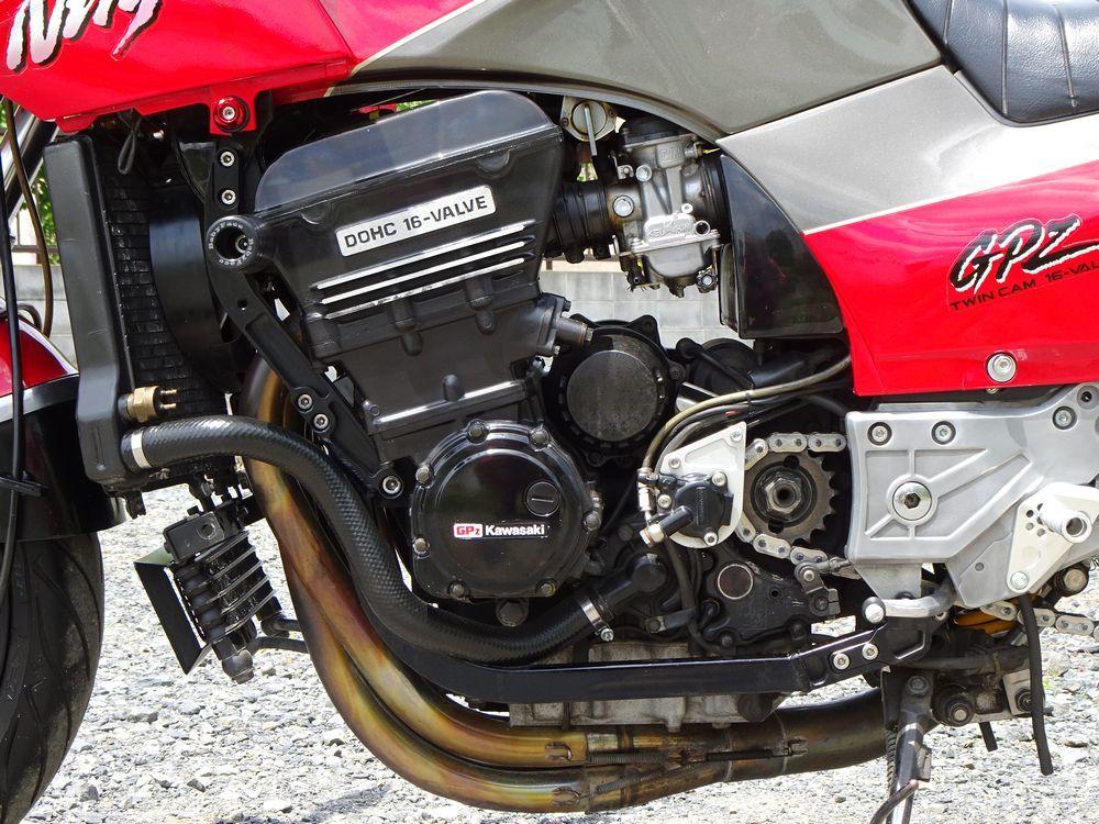 ☆GPZ900R A10 欧州最終モデル 17インチ5.5J ナイトロアンダー Nプロトップブリッジ ラジアルマスター 仕上がったGPZ!! ローン可☆_画像7