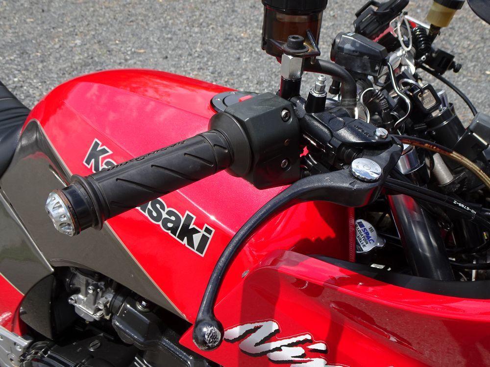 ☆GPZ900R A10 欧州最終モデル 17インチ5.5J ナイトロアンダー Nプロトップブリッジ ラジアルマスター 仕上がったGPZ!! ローン可☆_画像10