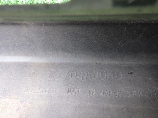 BM9 BR9 前期 レガシィB4 レガシィツーリングワゴン Sパッケージ 純正フロントバンパー レガシー レガシイ 黒 57704AJ040_画像10