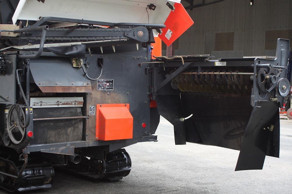 クボタ コンバイン エアロスター AR218 2条刈 18馬力 グレンタンク_画像7
