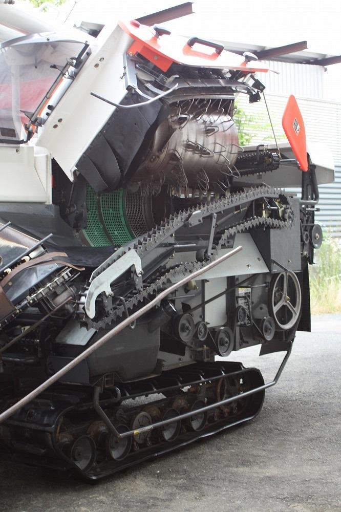 クボタ コンバイン エアロスター AR218 2条刈 18馬力 グレンタンク_画像6