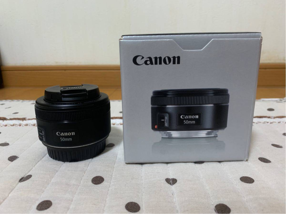 Canon EF50mm f1.8 STM(単焦点レンズ)