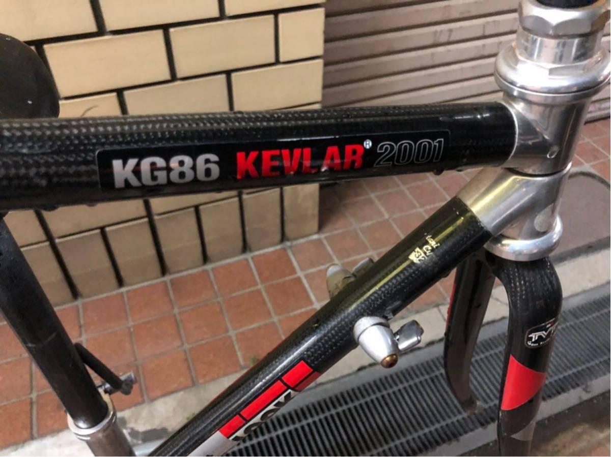 LOOK KG86 KEVLAR 2001 フレームのみ_画像2