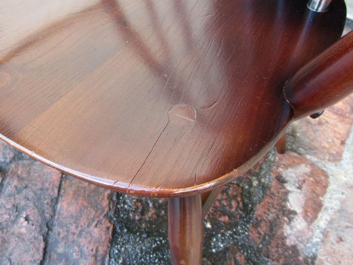アーコール ercol クエーカーアームチェア イギリス製アンティーク・ヴィンテージ家具_画像9