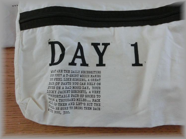 希少◆フェリシモ◆サニークラウズ◆遠くへ行きたい旅袋・3個セット/トラベルポーチ・旅行用便利グッズ・衣類収納・インナーバッグ_画像3