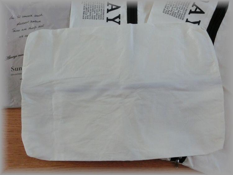 希少◆フェリシモ◆サニークラウズ◆遠くへ行きたい旅袋・3個セット/トラベルポーチ・旅行用便利グッズ・衣類収納・インナーバッグ_画像4