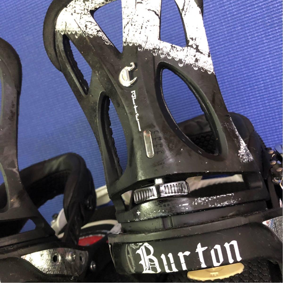 【BD016】激安!! BURTON (バートン) / モデル: CARTEL / サイズ:M/ スノーボード・バインディング 初心者歓迎!!_画像4
