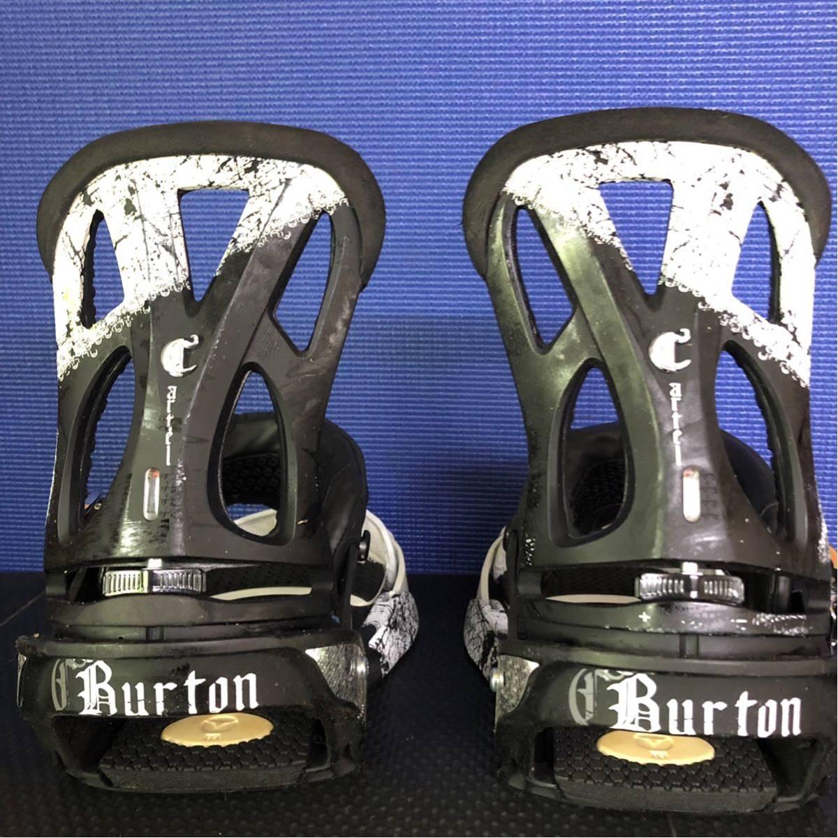 【BD016】激安!! BURTON (バートン) / モデル: CARTEL / サイズ:M/ スノーボード・バインディング 初心者歓迎!!_画像3