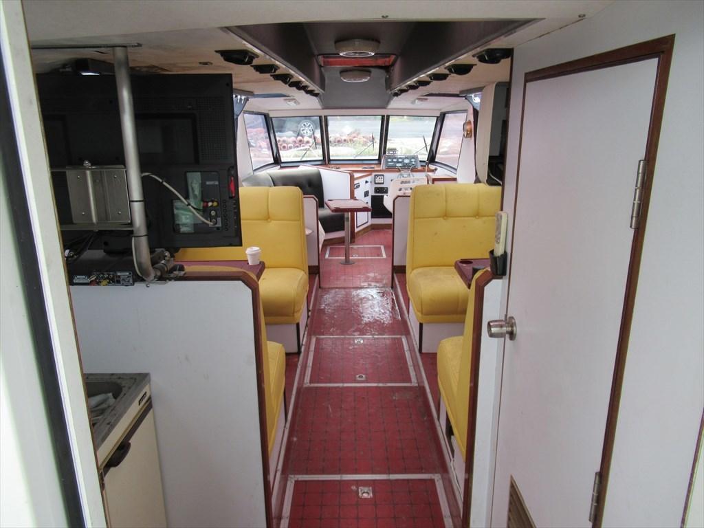 ヤンマー 40ft 別荘・小型観光船に ヤンマーの希少船 東京都_画像5