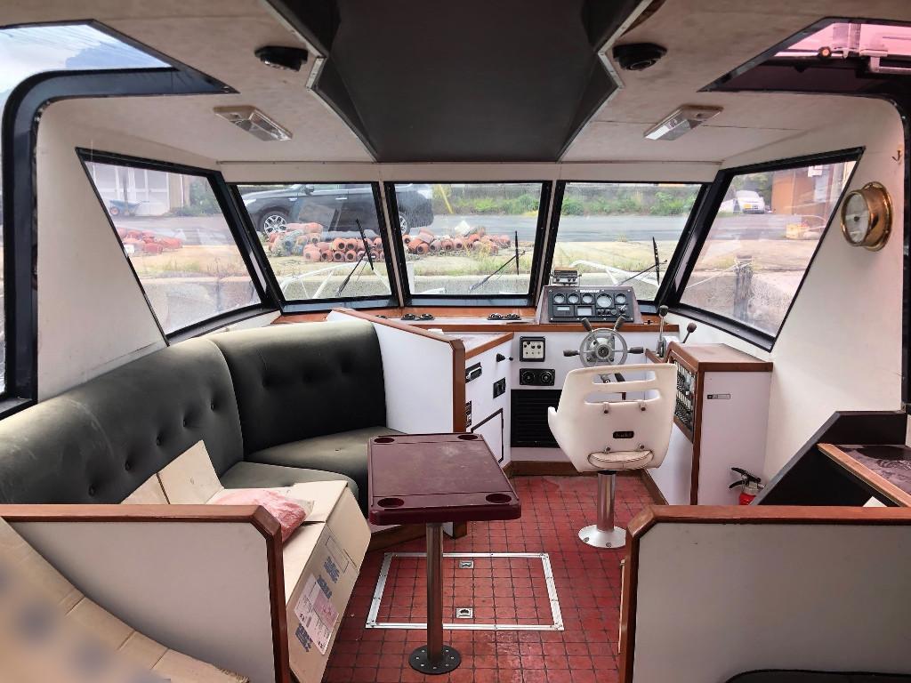 ヤンマー 40ft 別荘・小型観光船に ヤンマーの希少船 東京都_画像6