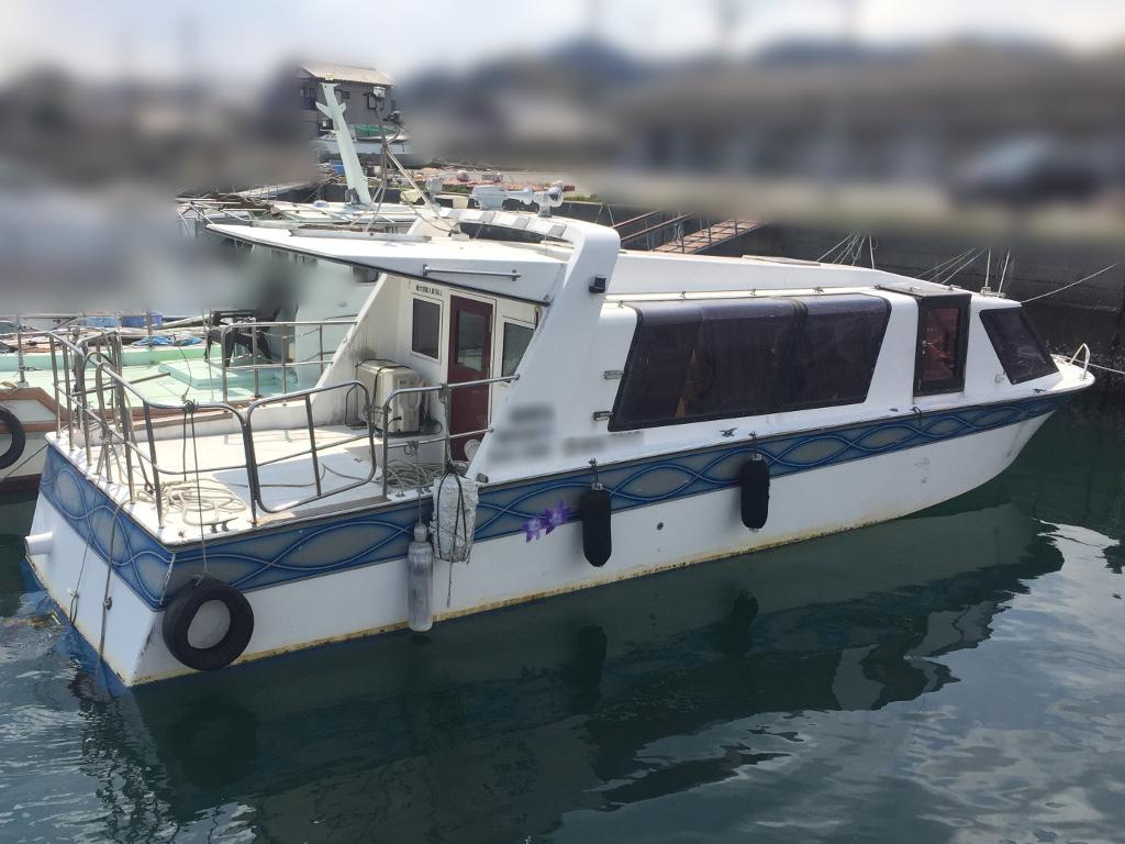 ヤンマー 40ft 別荘・小型観光船に ヤンマーの希少船 東京都_画像2