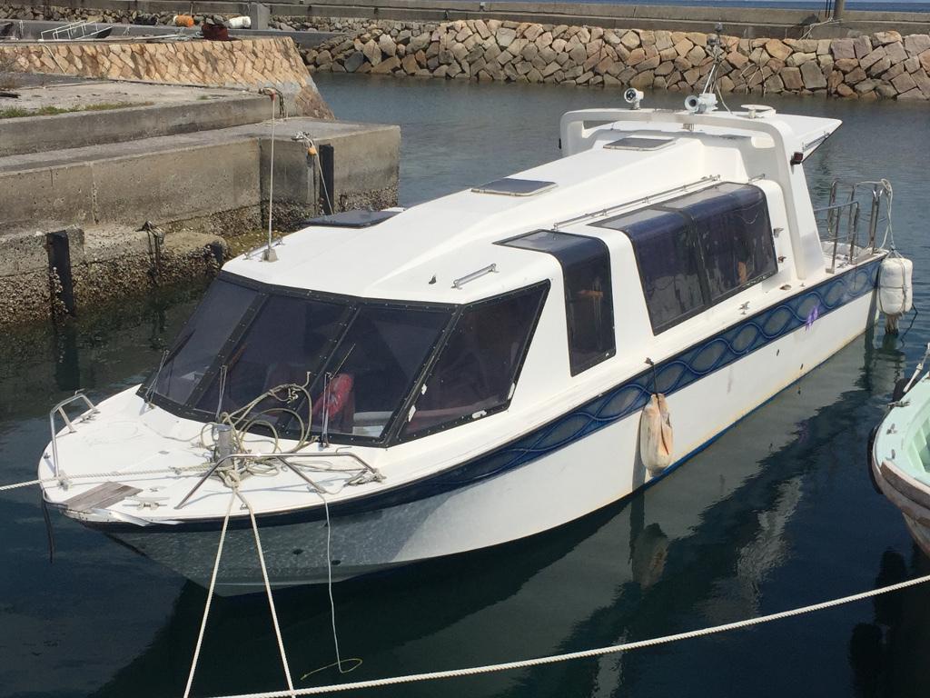 ヤンマー 40ft 別荘・小型観光船に ヤンマーの希少船 東京都
