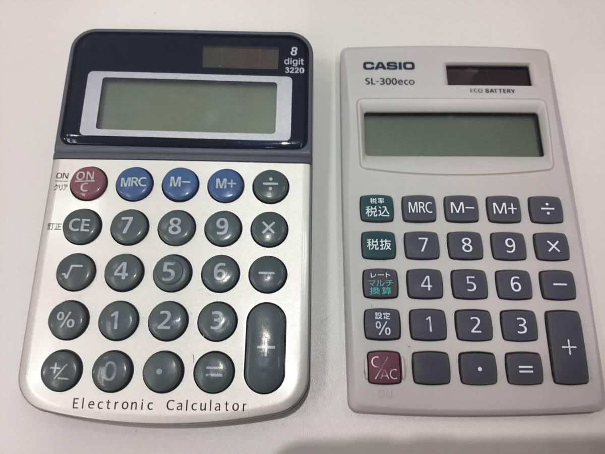 2185.1641 CASIO mini-8 カシオ ミニ8 昭和レトロ 電卓 動作品 +オマケつき_画像6