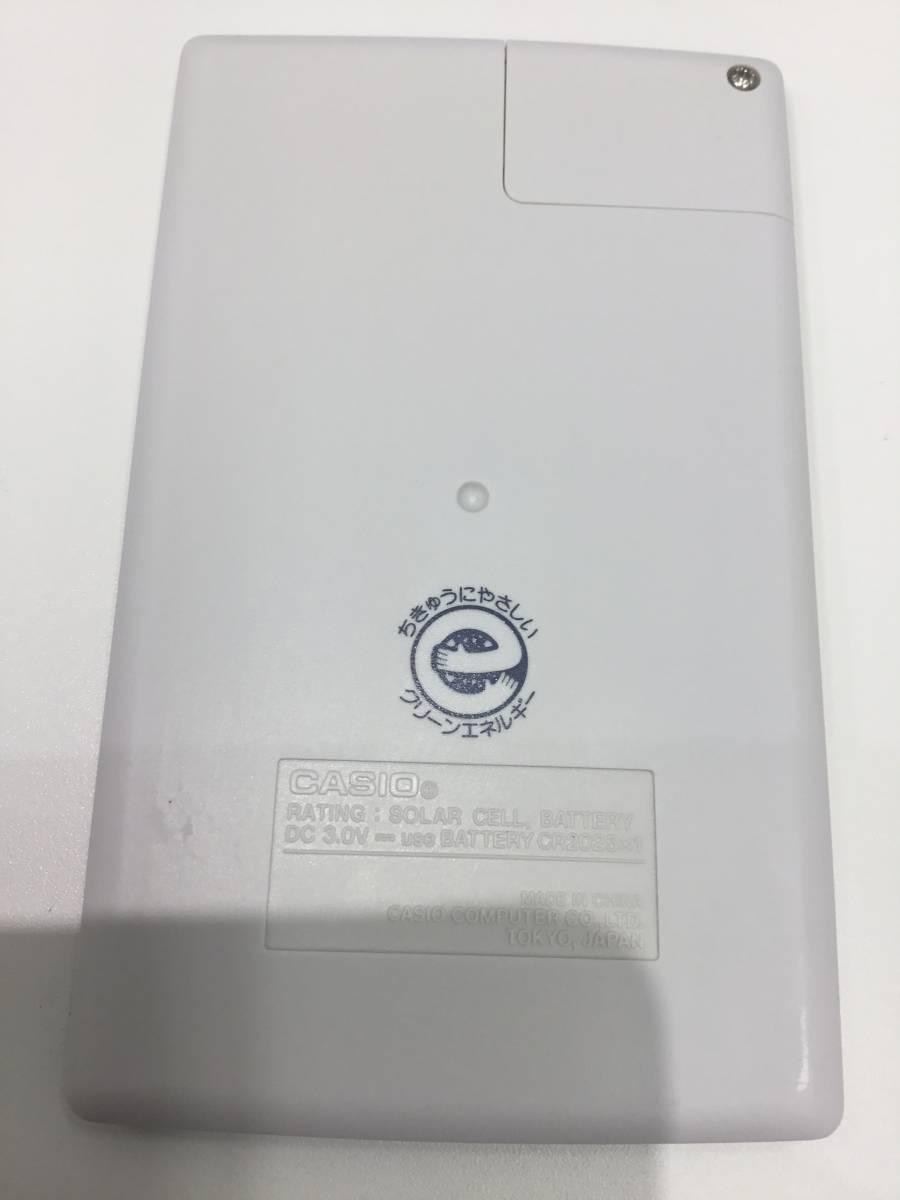 2185.1641 CASIO mini-8 カシオ ミニ8 昭和レトロ 電卓 動作品 +オマケつき_画像8