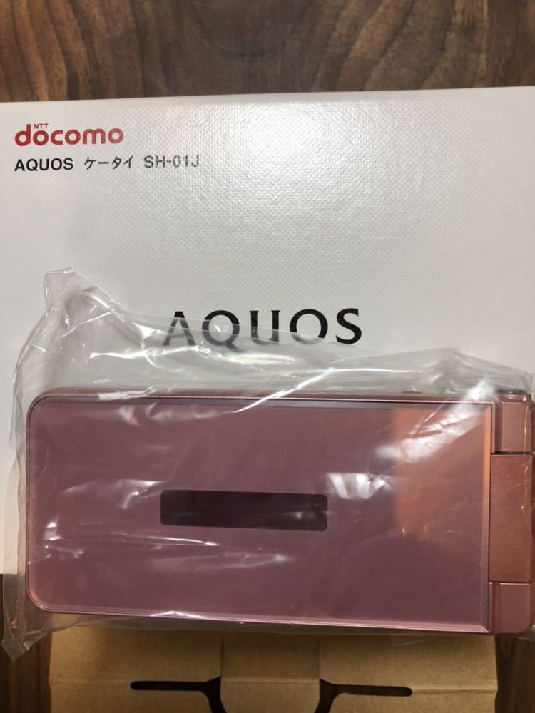 docomo ガラホ sh01j ピンク 新品未使用!送料無料!残債なし。