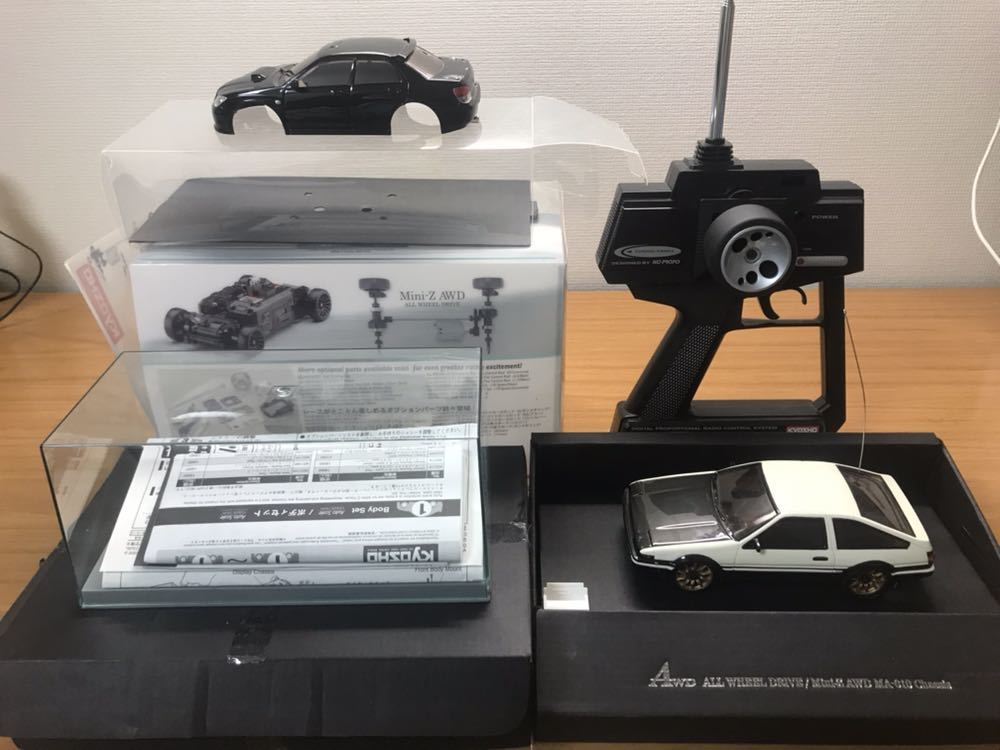 kyosho 京商 Mini-Z AWD ミニッツAWD MA-010 AE86トレノ ドリフト