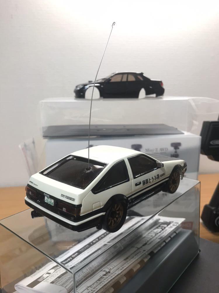 kyosho 京商 Mini-Z AWD ミニッツAWD MA-010 AE86トレノ ドリフト_画像3