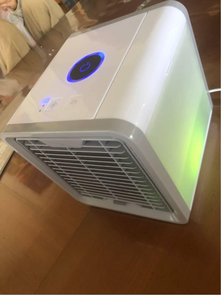 冷風扇 小型 卓上 LED ミニエアコン 省エネ 冷風機 _画像3