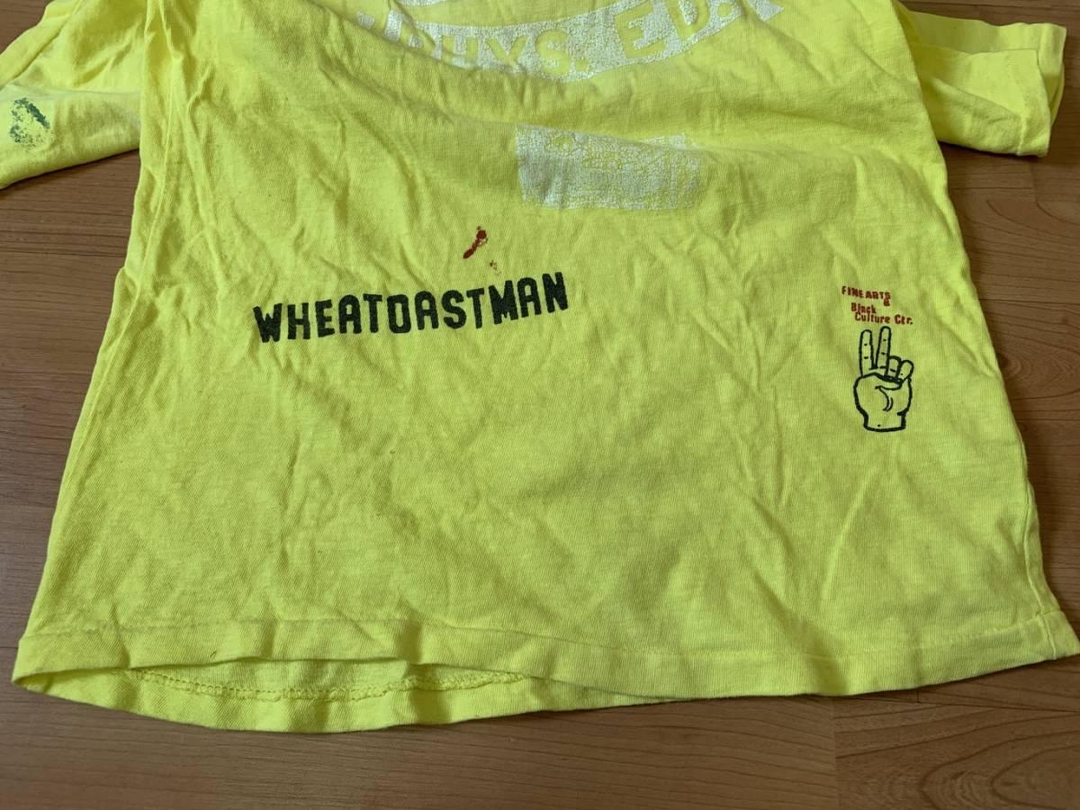 古着■半袖Tシャツ DENIM DUNGAREE デニムタンガリー 子供服/150cm/黄色/バックプリント_画像6