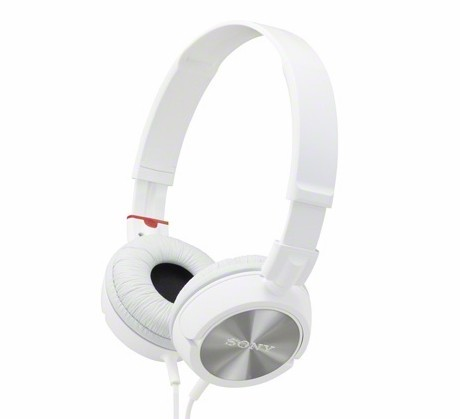SONY CLOSED ON ERA HEAD PHONES RED MDR-ZX300_画像1
