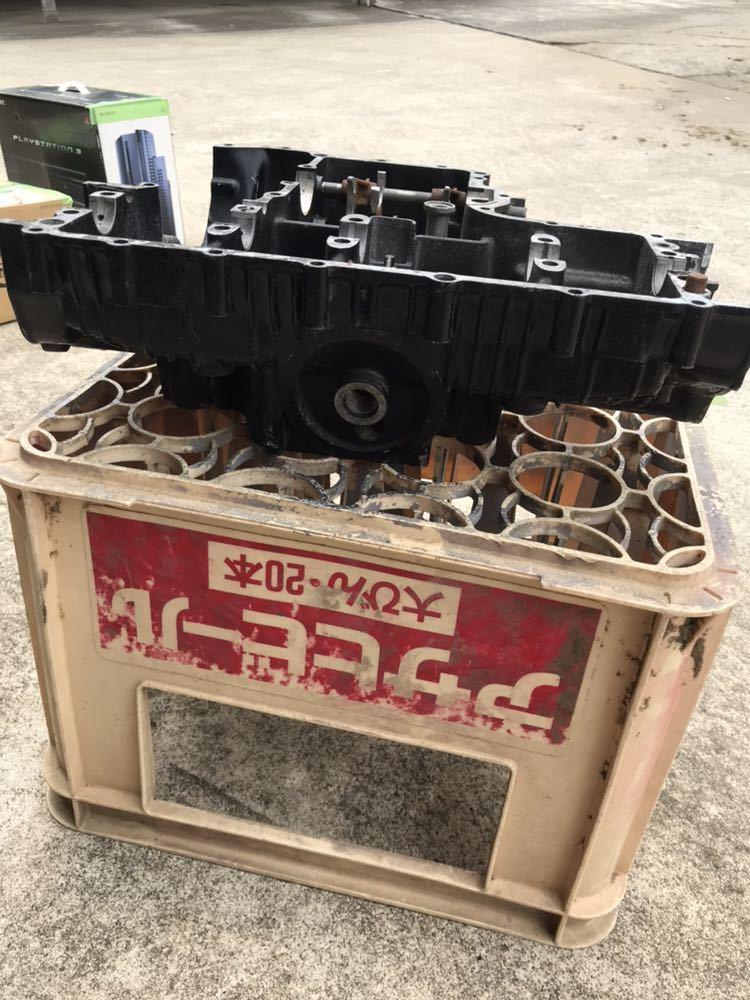 CBX400F 1型2型 550F CBR400F クランク クランクケース 上下 エンジン 当時物