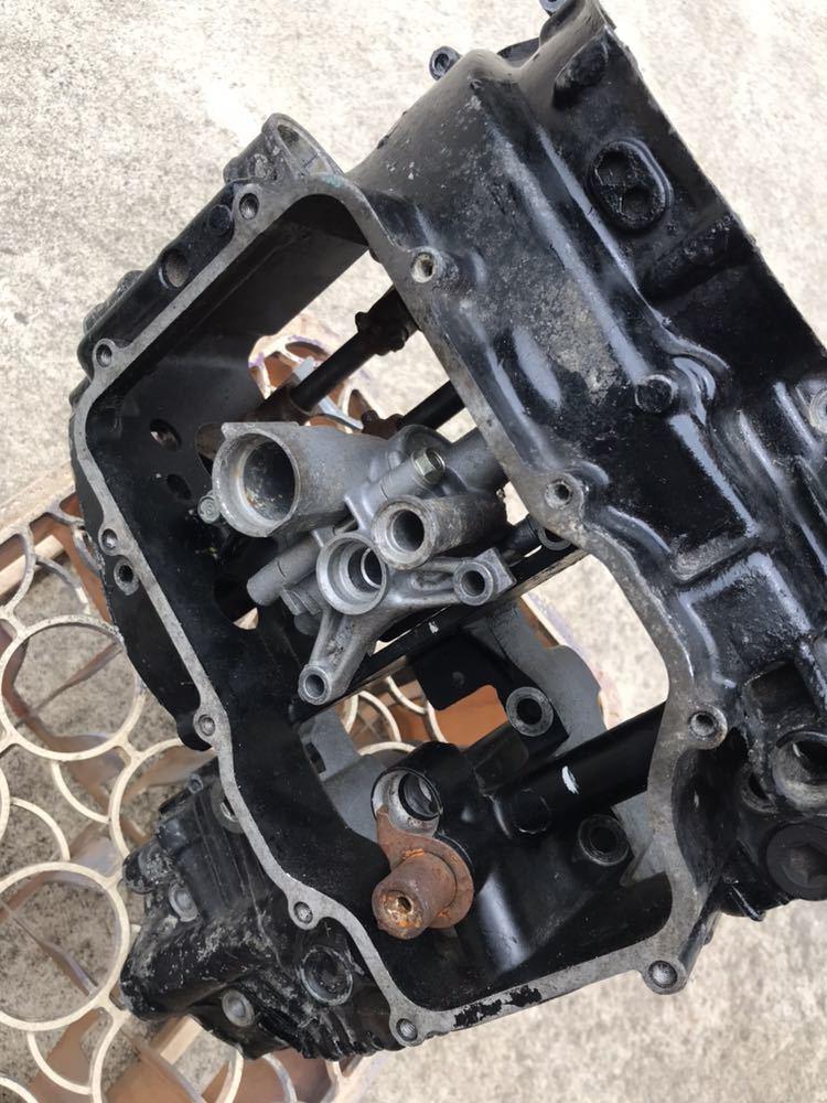 CBX400F 1型2型 550F CBR400F クランク クランクケース 上下 エンジン 当時物_画像5
